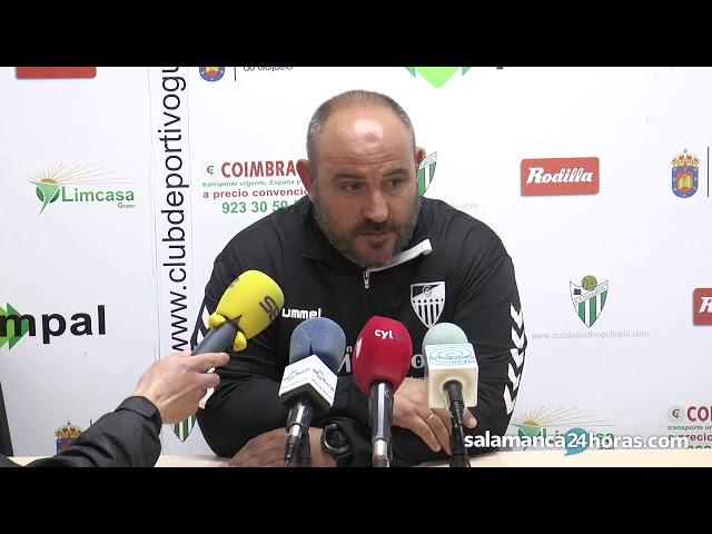 Rueda de prensa tras el CD Guijuelo - Gimnástica Segoviana
