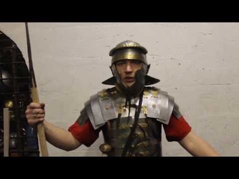 Roman pilum -2. Throw technique. Римский пилум - 2. Техника броска.