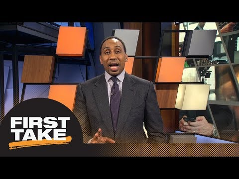 Stephen A. Smith gives advice to Blake Bortles on LeBron James comparison | First Take | ESPN
