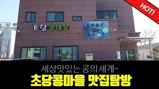형아누나TV 강릉 두부맛집 초당콩마을 두부 어디까지 먹…