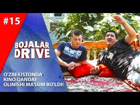 Bojalar Drive 15-son O'zbekistonda kino qanday olinishi ma'lum bo'ldi!