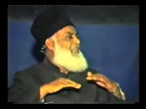 Maulana Maududi and Jamaat-e-Islami(1/4). Dr.Israr