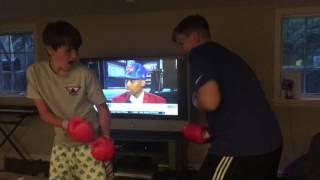 kid breaks neck in fight