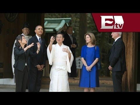 Japón acoge con honores a Barack Obama, en su visita por Asia/ Global Maria Navarro