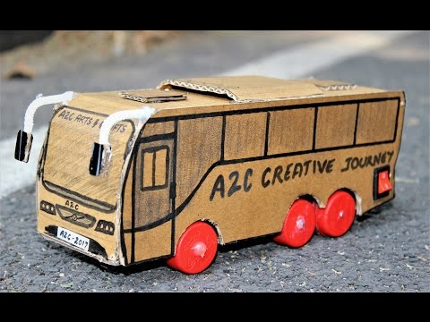 How to make a Multi AXLE Battery operated BUS