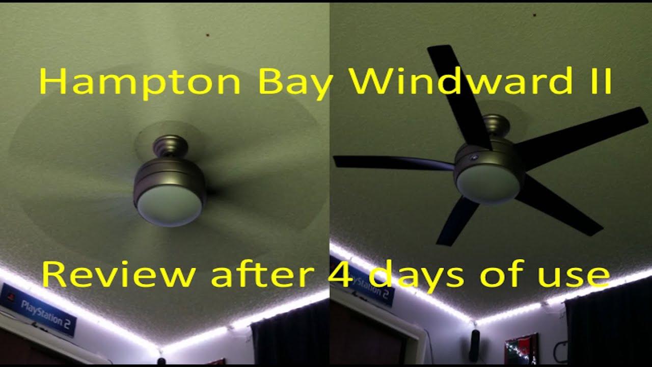 4k hampton bay windward ii review after 4 days of owning the fan 4k hampton bay windward ii review after 4 days of owning the fan aloadofball Image collections