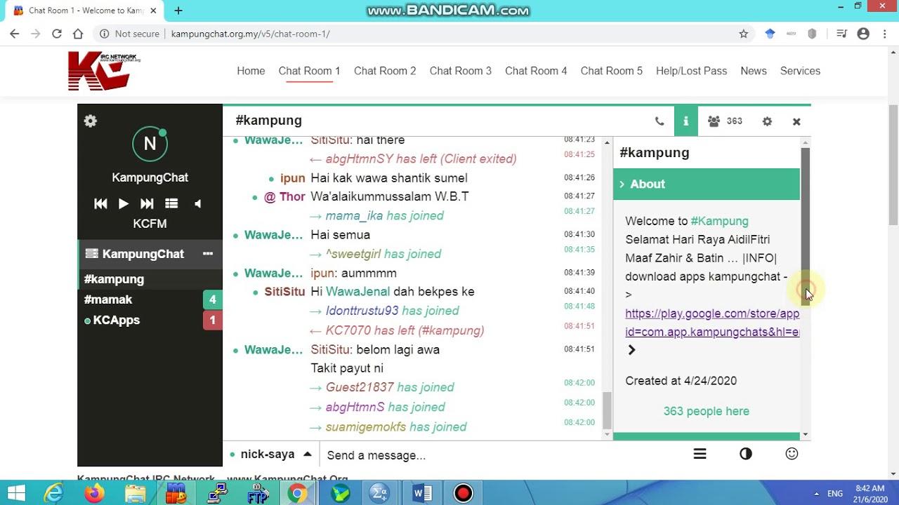 Kampung chat online