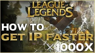 How To Get FAST IP In League Of Legends : 5 Tips For IP