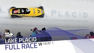 Lake Placid | BMW IBSF World Cup 2017/2018 - Women's Bobsleigh Heat 1 | IBSF Official