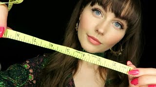 Zapętlaj ASMR~semi inaudible face measuring for personal attention relaxation | SophieMichelle ASMR