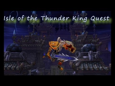 Isle Of The Thunder King Quest Line PTR Part 1