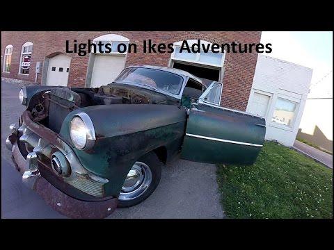 '53 Chevy Rat Rod Headlights Install: Ike's Adventures