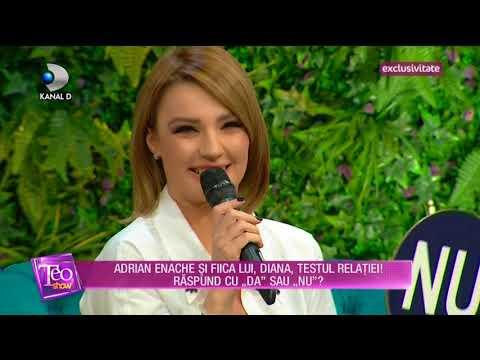 Teo Show (02.03.2018) - Adrian Enache si fiica lui, Diana, testul relatiei! Partea 5