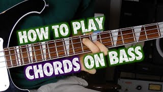 How to Play Chords on Bass Guitar