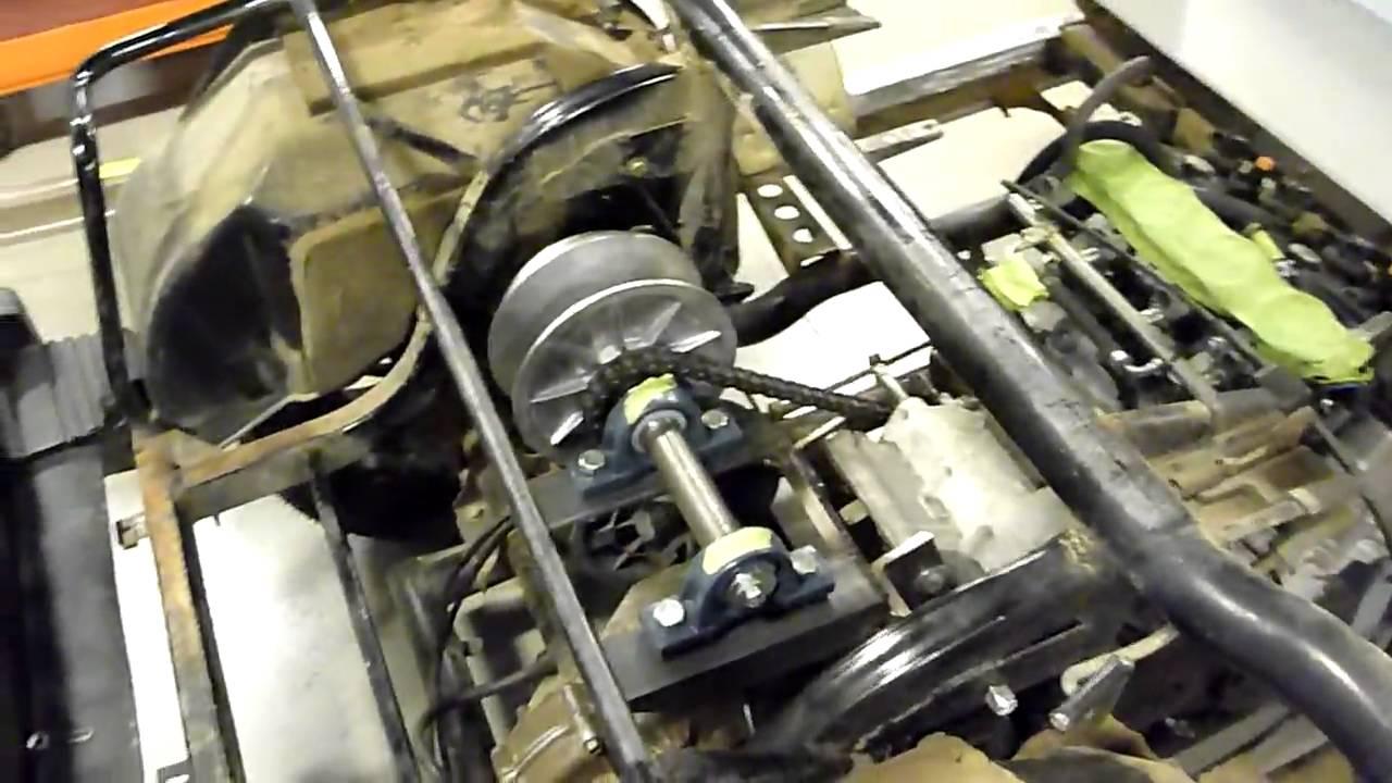 MACSBOOST GSXR Yamaha Golf cart Build Video  YouTube