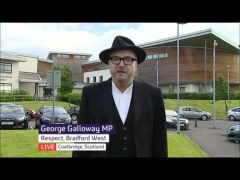 George Galloway MP on #SackBlair as Middle East 'Peace Envoy' [Channel 4 News]