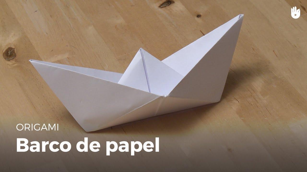 Como Fazer Origami Barco De Papel Youtube