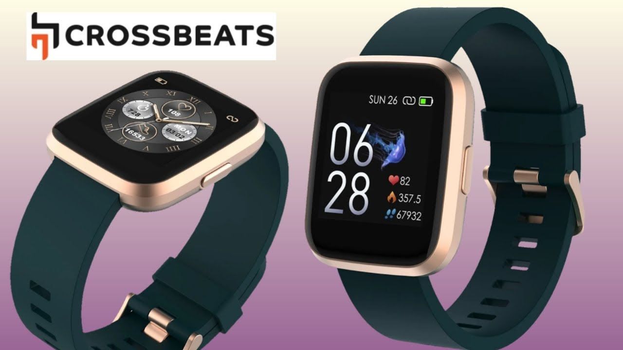 Crossbeats IGNITE Smartwatch | Crossbeats Smart watches Newly Launched -  First Look 🔥 - YouTube