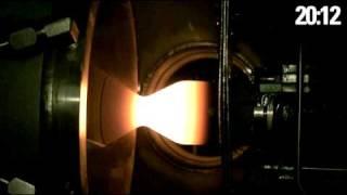 Draco Thruster Vacuum Firing
