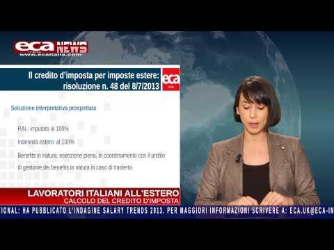 Eca Italia News - mobilità internazionale - ed. novembre 2013