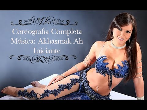 Coreografia Completa! Akhasmak Ah - Nancy Ajram