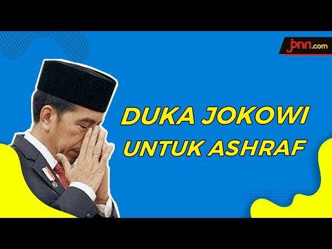 Jokowi Sampaikan Duka Cita untuk Ashraf Sinclair dan BCL