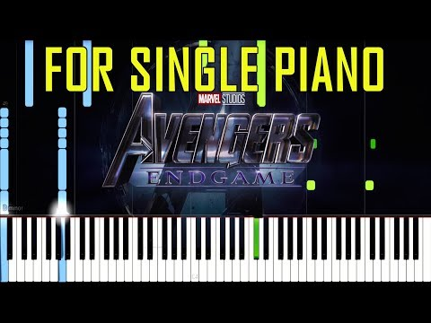 Avengers 4 : Endgame Trailer Music/So Say We All by Audiomachine [Sythesia Piano Tutorial] Mp3