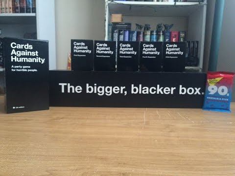 Cards Against Humanity Unboxing and Overview