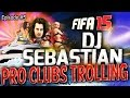 IT'S PARTY TIME! FIFA 15 PRO CLUBS FUNNY MOMENTS