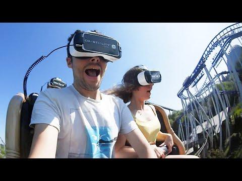 Je teste la Réalité Virtuelle dans un Vrai Parc d