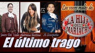 El último trago   Adriana Bottina y Jairo del Valle   Letra YouTube Videos