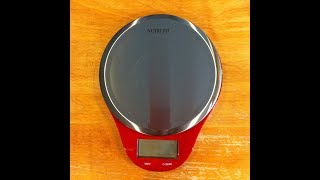 NUTRI FIT Digital Kitchen Scale Review