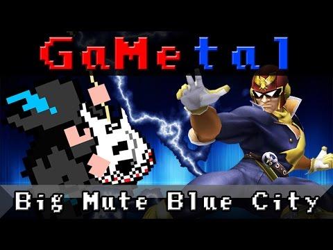 Big Mute Blue City (F-Zero) - GaMetal