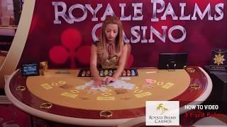 Заснемане на видео урок Three Card Poker