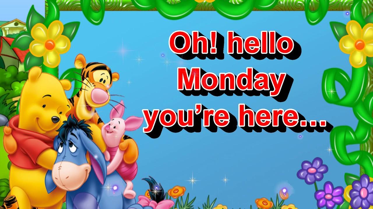 Happy Monday Greetingsquotessmswishessayinge Cardwallpapers
