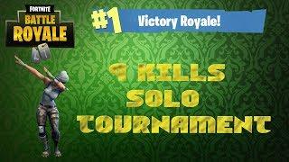 Fortnite Battle Royale! EU Tournament game WIN!!!
