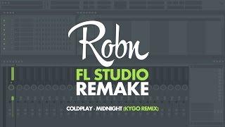 coldplay midnight kygo remix robn remake