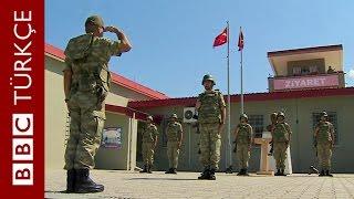 Türk askerinin Suriye sınırda IŞİD nöbeti - BBC TÜRKÇE