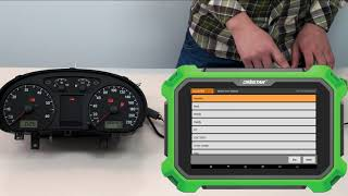 2006 VW Polo Cluster Calibration  with Key Master DP Plus