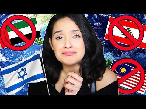 Countries I'm NOT ALLOWED To Visit Cause I'm From Israel