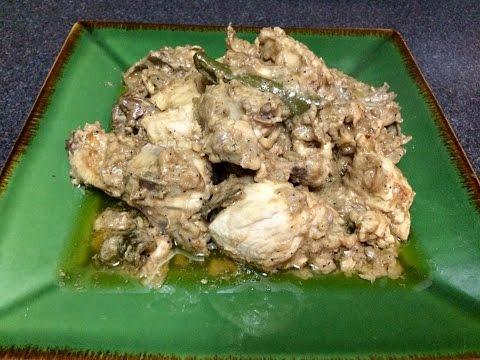 Chicken Adobo sa Gata