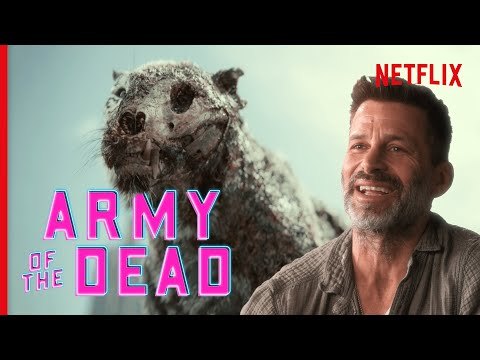 Zack Snyder Dissects the Army of the Dead Trailer   Netflix