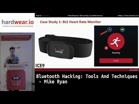 Bluetooth Hacking: Tools And Techniques   Mike Ryan   Hardwear.io USA 2019