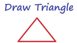 MSW شعار - رسم المثلث باستخدام الشعار