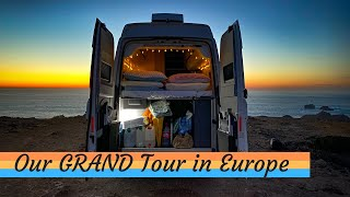 VW Grand California - OUR 3500 Mile EUROPEAN TOUR - **Full Feature**