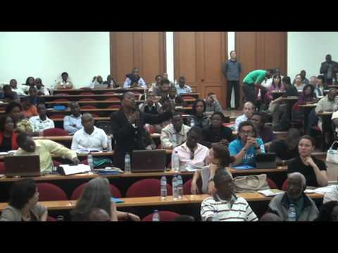 People's Triangular Conference on ProSAVANA Aug. 8, 2013 in Maputo, Mozambique (5)