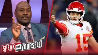 Mahomes is wrong for trusting Chiefs to build a team around him — Wiley | NFL | SPEAK FOR YOURSELF