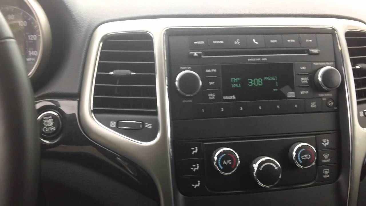 2012 Jeep Grand Cherokee Keyless Enter N Go Youtube