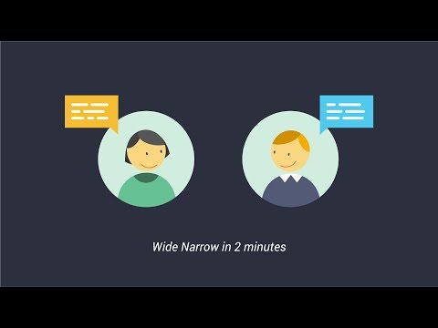Wide Narrow – Better Intelligence. Faster. Together.