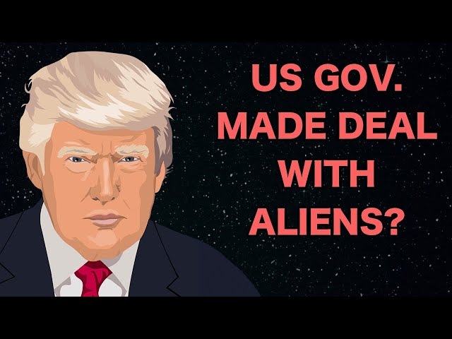 Did Trump Make a Deal With the Galactic Federation?